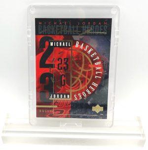 1994 Michael Jordan (GOLD SCRIPT- #23 BASKETBALL HEROES-UD CARD-#j H)=1pc (1)