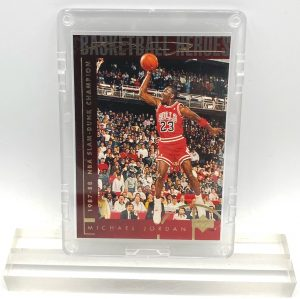 1994 Michael Jordan (GOLD SCRIPT 87-88 NBA Slam Dunk Champion-Basketball Heroes-UD CARD-#39)=1pc (1)