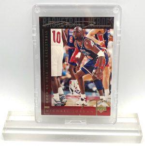 1994 Michael Jordan (GOLD SCRIPT Good AS Gold USA BASKETBALL-Basketball Heroes-UD CARD-#42)=1pc (1)