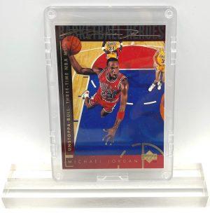 1994 Michael Jordan (GOLD SCRIPT Unstoppa-Bull Three-Time NBA MVP-Basketball Heroes-UD CARD-#40)=1pc (1)
