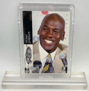 1994 Michael Jordan (HOLO SCRIPT-OCTOBER 6, 1993-NBA RETIREMENT-Upper Deck Card #MJR1)=1pc (1)