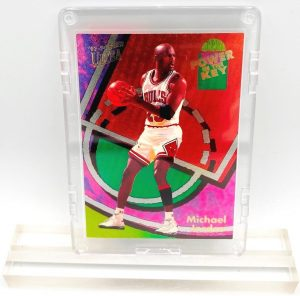 1994 Michael Jordan (POWER IN THE KEY Fleer Ultra Card #2 of 9)=1pc (1)