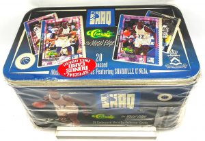 1994 SHAQ NBA The Metal Edge Collection (20 Embossed Metallic Collector Cards Ltd Ed) Classic (1)