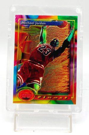 1994 Topps Finest (Michael Jordan Finest Moment-Chicago Bulls) 3pcs Card #1 (1)