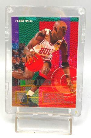 1995-96 Fleer NBA Basketball (Michael Jordan Drafted 1st Round) 1pc Card #22 (1)