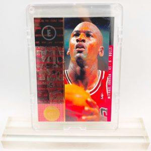 1995 Michael Jordan (1995 Championship Series Jersey #45-Upper Deck-Card #4)=2pcs (1)
