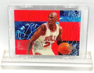 1995 Michael Jordan (FABULOUS FIFTIES Fleer-Ultra Card #5 of 7)=1pc (1)