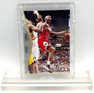 1995 Michael Jordan (HOLO-SCRIPT He's Back-March 19, 1995-SPECIAL PRODUCT-UD-SP CARD-#MJ1)=1pc (1)