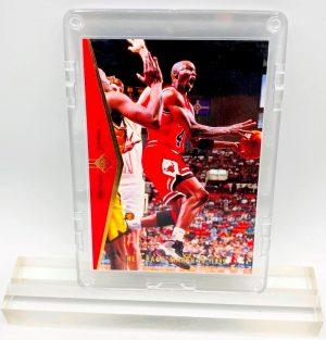 1995 Michael Jordan (He's Back-March 19,1995 Upper Deck-SP Card #MJ 1)=3pcs (1)