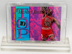 1995 Michael Jordan (TOP 10 All-Time Rookie Team Skybox Card #AR 7)=1pc (1)