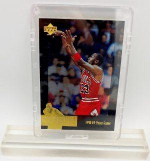 1996 Michael Jordan (THE JORDAN COLLECTION 1990 69-Point Game Upper Deck Card #JC14)=1pc (1)