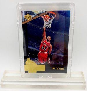 1996 Michael Jordan (THE JORDAN COLLECTION 1995 He's Back Upper Deck Card #JC15)=1pc (1)