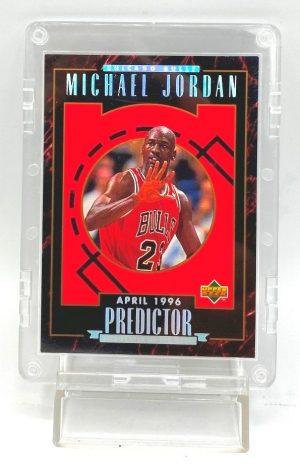 1996 Upper Deck (Michael Jordan April 1996 Predictor) 1pc Card #H5 (1)