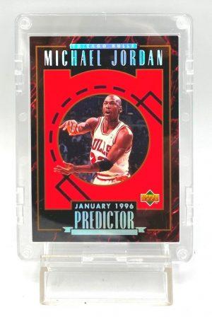 1996 Upper Deck (Michael Jordan January 1996 Predictor) 1pc Card #H2 (1)