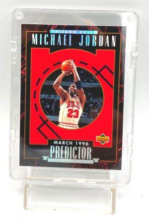 1996 Upper Deck (Michael Jordan March 1996 Predictor) 1pc Card #H4 (1)