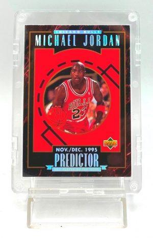 1996 Upper Deck (Michael Jordan Nov-Dec 1995 Predictor) 1pc Card #H1 (1)
