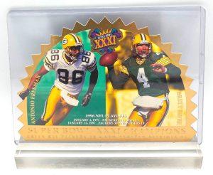 1997 SB! Vintage (Brett Favre & Antonio Freeman) Green Bay Packers (Super Bowl XXXI Champions) (1)