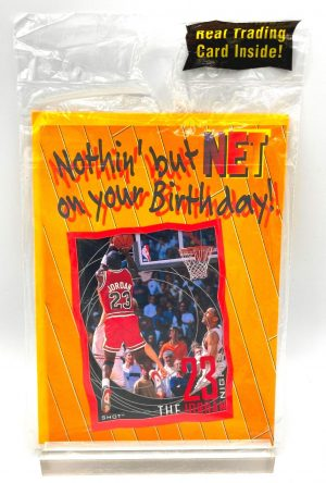 1997 Upper Deck The Shot Birthday Card! Vintage Michael Jordan (1)