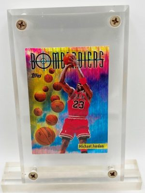 1998 Michael Jordan (10th Scoring Title Topps Card-SB6)=1pc (1)