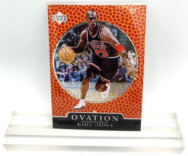 1998 Michael Jordan (SILVER SCRIPT-OVATION-Upper Deck SILVER-CARD-#7)=5pcs (1)