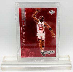 1999 Michael Jordan (BLACK DIAMOND #0151 of 3000 Upper Deck-Card #8)=1pc (1)