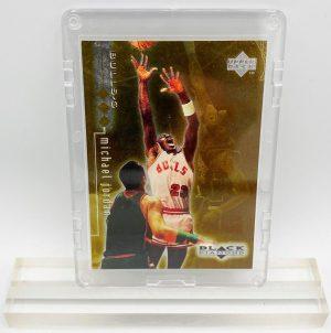 1999 Michael Jordan (BLACK DIAMOND #1430 of 1500 Upper Deck-Card #2)=1pc (1)