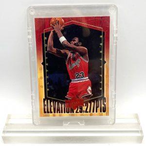 1999 Michael Jordan (GOLD SCRIPT-ATHLETE OF THE CENTURY-ELEVATION Upper Deck-Card #EL1)=1pc (1)