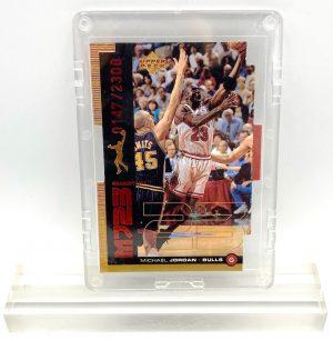 1999 Michael Jordan (QUANTUM MJ23-Ltd Ed #0147 of 2300-MASTER MOVES-UD CARD-#QMM26)=1pc (1)
