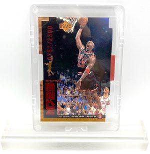 1999 Michael Jordan (QUANTUM MJ23-Ltd Ed #0757 of 2300-MASTER MOVES-UD CARD-#QMM14)=1pc (1)