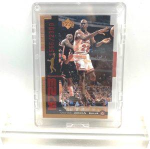 1999 Michael Jordan (QUANTUM MJ23-Ltd Ed #1555 of 2300-MASTER MOVES-UD CARD-#QMM23)=1pc (1)