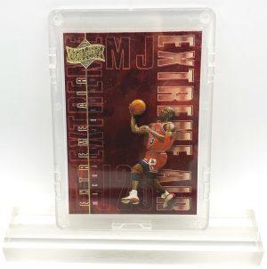 1999 Michael Jordan (RED CHROME & GOLD SCRIPT - EXTREME AIR-Upper Deck-Card #EA11)=1pc (1)