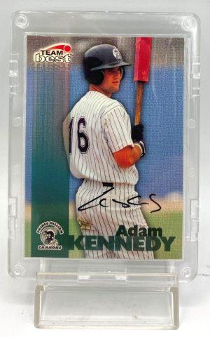 1999 Team Best Minor League (Adam Kennedy-Cannons) Autograph (1)