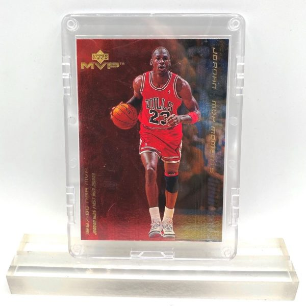 1999 Upper Deck! Michael Jordan MVP (1987-88 First MVP Award Moments Card #MJ1) (1)