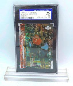 2000 UD Encore Jamal Crawford (ROOKIE CARD) #154 (44741276) 92 Mint 8.5 (1)