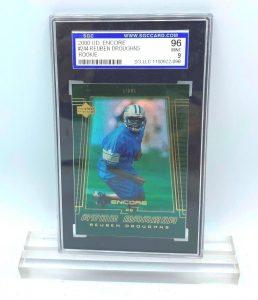 2000 UD Encore Reuben Droughns (ROOKIE CARD) #244 (090922098) 96 Mint 9 (1)