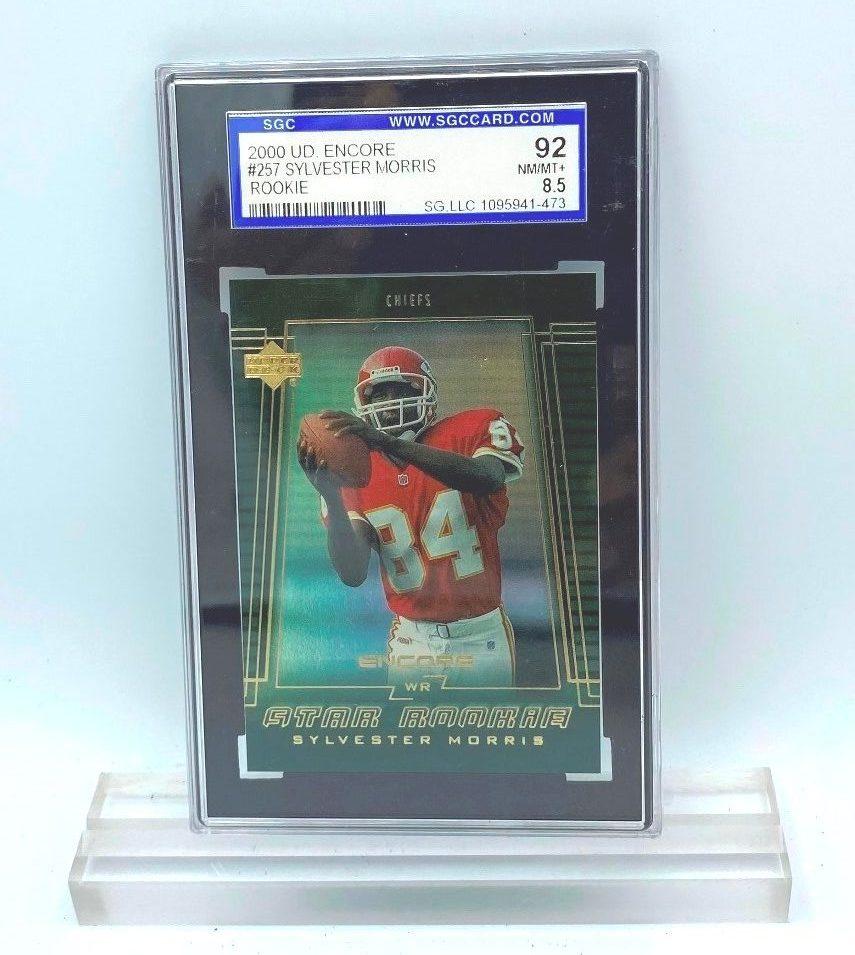 2000 UD Encore Sylvester Morris (ROOKIE CARD) #257 (095491473) 92 Mint 8.5 (1)