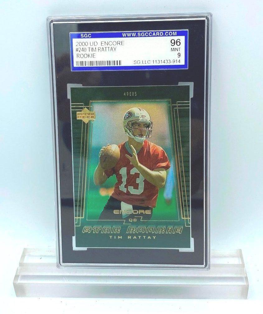 2000 UD Encore Tim Rattay (ROOKIE CARD) #240 (31433915) 96 Mint 9 (2)