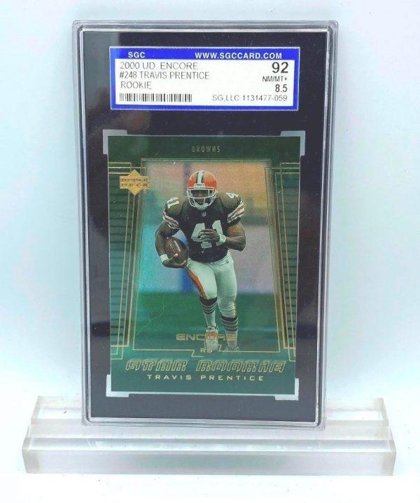 2000 UD Encore Travis Prentice (ROOKIE CARD) #248 (31477059) 92 Mint 8.5 (1)
