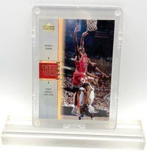 2001 Michael Jordan (GOLD SCRIPT HOLO FOIL UD CLASS BULLS-Upper Deck Card #C1)=1pc (1)