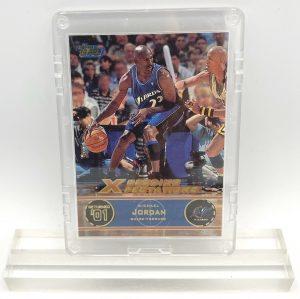 2001 Michael Jordan (GOLD SCRIPT XCEEDING XPECTATIONS-RETURNED'01 Washington Wizards Topps-Card #151)=1pc (1)