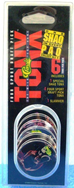 1993 Classic Tonx Four Sport Draft Pick SHAQ (1)