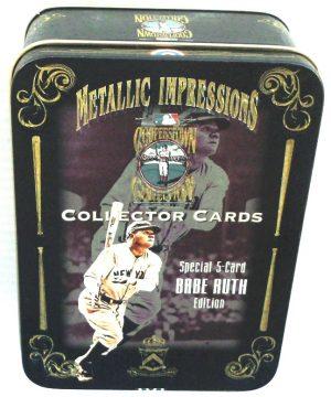 1994 Metallic Impressions Special 5-Card EditionBabe Ruth Tin (2)