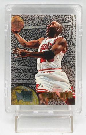 1995-96 Fleer Metal Michael Jordan GOLD SSP Card #13 (1pc) (1)