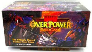 1995 Marvel OverPower Card Game Starter Decks Factory (12x) Box (2)