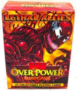 1995 Marvel OverPower Lethal Allies Starter Deck (1)
