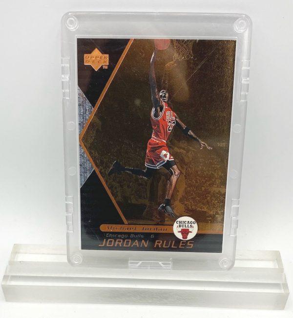 1998 Michael Jordan (JORDAN RULES-Upper Deck BRONZE CARD-#J1)=3pcs (1)