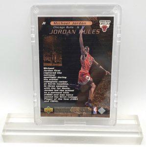 1998 Michael Jordan (JORDAN RULES-Upper Deck BRONZE CARD-#J1)=3pcs (2)