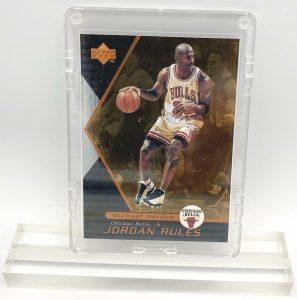1998 Michael Jordan (JORDAN RULES-Upper Deck BRONZE CARD-#J3)=2pcs (1)