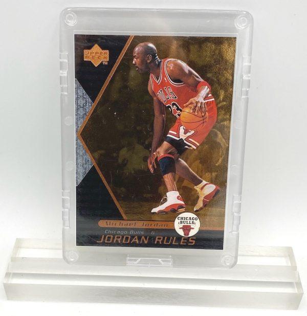 1998 Michael Jordan (JORDAN RULES-Upper Deck BRONZE CARD-#J4)=1pc (1)