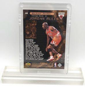 1998 Michael Jordan (JORDAN RULES-Upper Deck BRONZE CARD-#J4)=1pc (2)